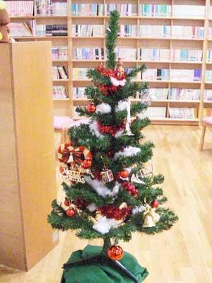 クリスマスの企画展示