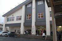 入学式会場の外観