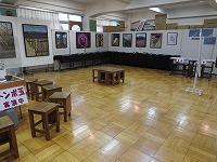 美術部の絵画展示