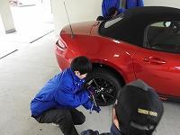 車両整備の体験