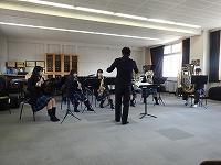 吹奏楽部の合奏