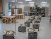寄居城北高校 陶芸室