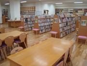 寄居城北高校 図書館