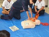 基礎救急講習5