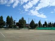 寄居城北高校 テニスコート