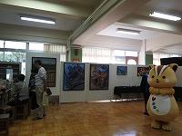 美術部の作品展示