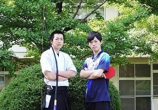 小池君(左)、坂本君