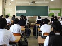 教室での生徒