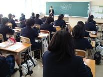 埼玉県立寄居城北高等学校 1年次生「進路説明会」