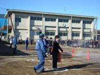 埼玉県立寄居城北高等学校 避難防火訓練