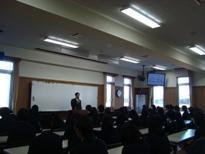 埼玉県立寄居城北高等学校 第三学期始業式