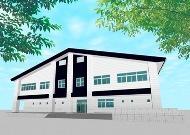 埼玉県立寄居城北高等学校 体育館イメージ