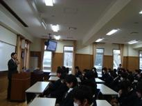 埼玉県立寄居城北高等学校 終業式