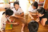 児童施設でのインターンシップ風景